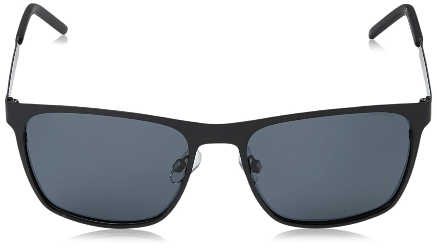 Amazon.com: Polaroid PLD2046/S 003 Matte Black PLD2046/S Rectangle  Sunglasses Polarised Len: Polaroid: Clothing