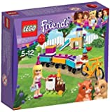 LEGO - 41111 - Friends - Jeu de Construction - Le Train des Animaux