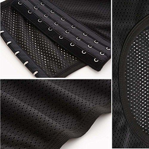 Women Chest Binder Breathable Flat Slim Vest Tops Sports Undershirt Black M - Buy -6719