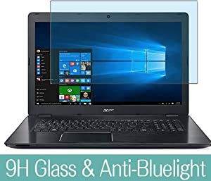 "Synvy Anti Blue Light Tempered Glass Screen Protector for Acer Aspire F5-771 / F5-771G 17.3"" Visible Area 9H Protective Screen Film Protectors (Not Full Coverage)"