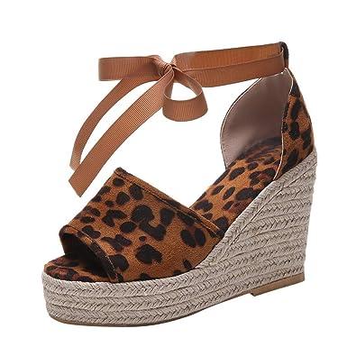 6042918a9f084 Amazon.com: Women Classic Waterproof Platform Wedge Sandals ...