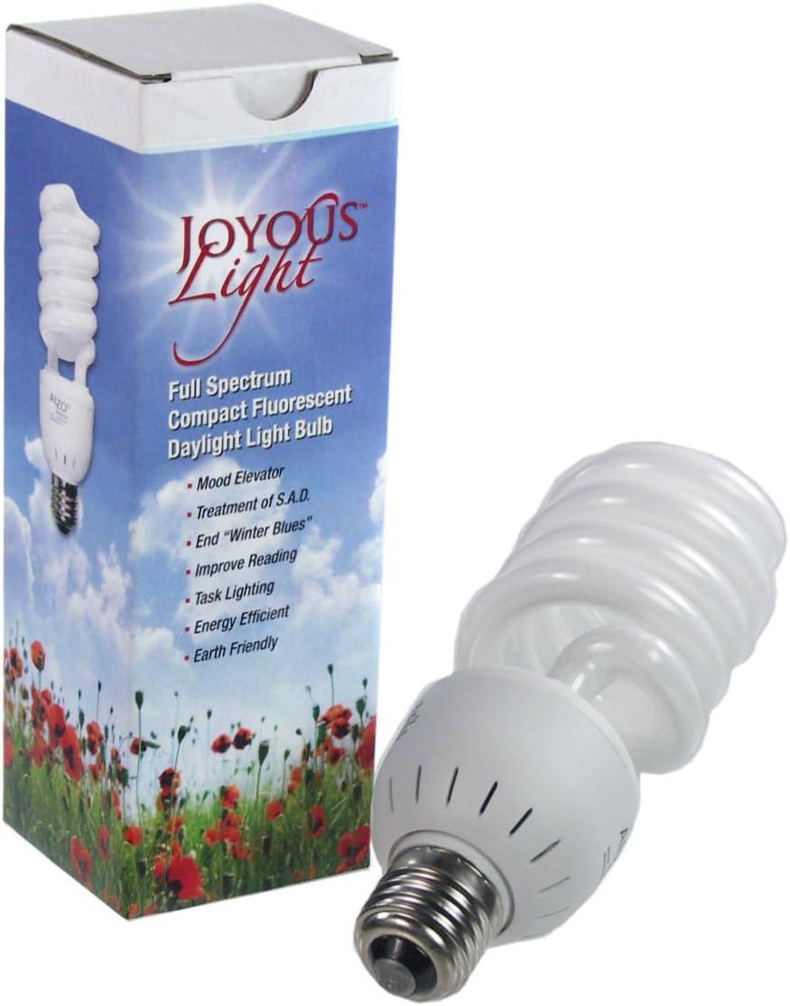 450 Lumens 120V ALZO 8W 75W Joyous Light Dimmable LED Full Spectrum Light Bulb 5500K Bright White Daylight Pack of 4 ALZO Digital