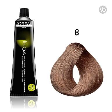LOreal INOA Coloración Permanente En Crema Para El Cabello - 60 g