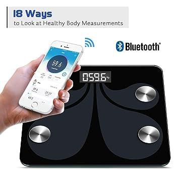 Básculas Digitales De La Grasa Del Cuerpo Del Hogar Básculas De Piso De Bluetooth Peso Corporal