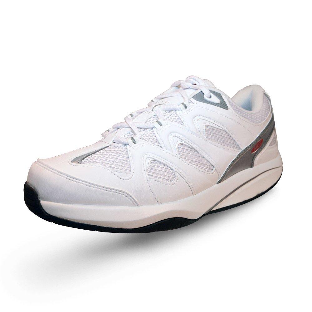 MBT Women's Sport 2 (Le) Athletic Walking Shoe (39 EU/8-8.5 M US, White)