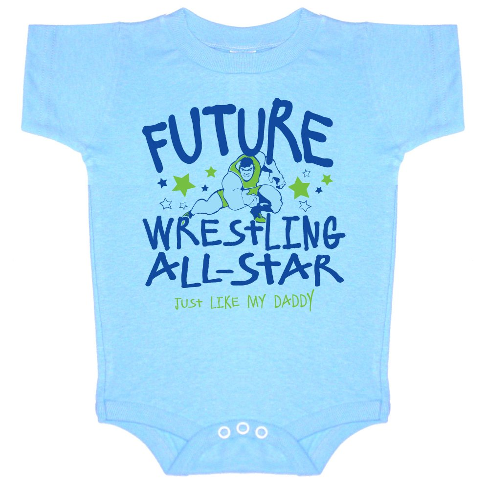 Future All-Star-Wrestling Just Like My Daddy-Onesie by Image Sport