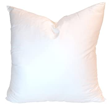 Amazon Pillowflex Synthetic Down Pillow Inserts For Shams Aka Amazing 30 Inch Euro Pillow Inserts