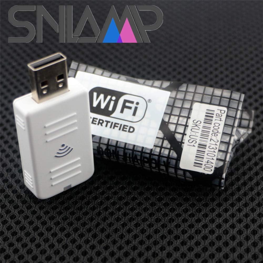V12H731P01 WLAN-USB-Adapter//DONGLE-Modul WI-FI f/ür EPSON EB-535W EB-530S EB-530 EB-525W EB-520 EB-2265U EB-2255U EB-2250U EB-2165W EB-2155W EB-2142W EB-2055 EB-2042 EB-2040 Snlamp ELPAP10
