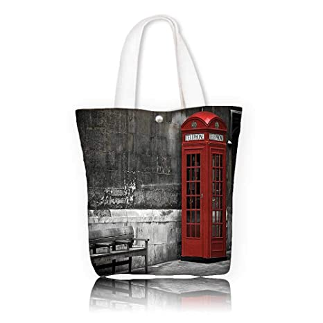 9a2605a030686 Amazon.com  Women s Canvas Tote Bag -W12 x H14 x D4.7 INCH Shopping ...