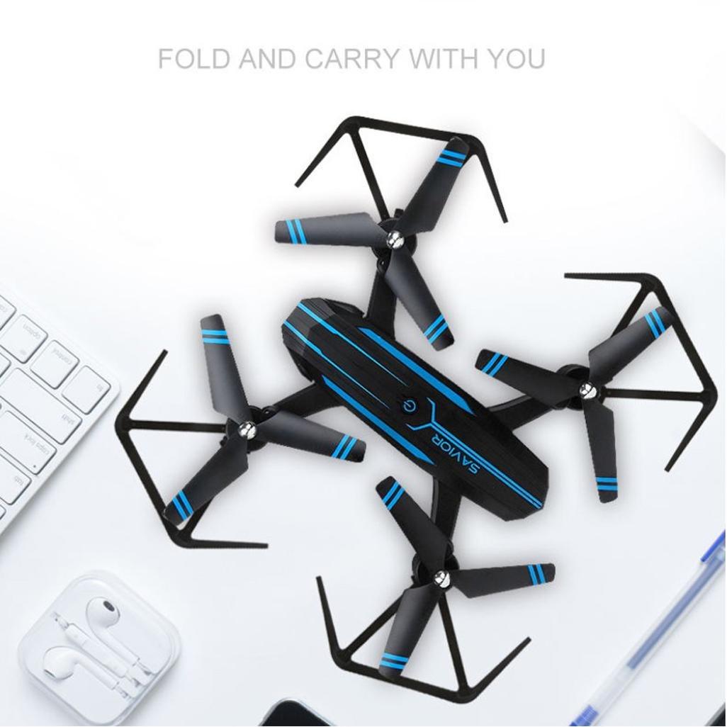 LCLrute Top Qualität 8809W 0.3PM 0.3PM 0.3PM 2.4G UAV WIFI Retter Faltbare Luftfahrzeug Drone RC Flugzeug Spielzeug (A) a9d1d1