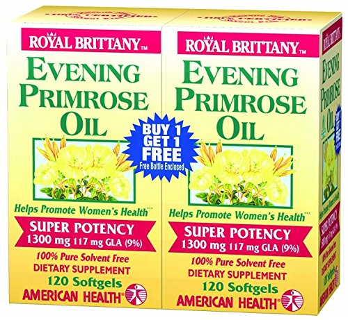 AMERICAN HEALTH EVENING PRMRS 1300MG TWNP, 2/120GEL by American Health (Image #1)