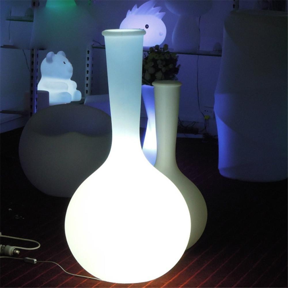 Kesierte LED-Fußboden-Vase-Lampen-europäische Art- und Weisekreative Gebühren-Fernsteuerungsbunte wasserdichte Tropfen-Vase 38 * 38 * H75cm 50 * 50 * H100cm , 50*50*h100cm