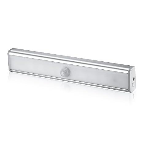 Sensor de movimiento luces de armario, armario de DIY stick-on inalámbrico de luz