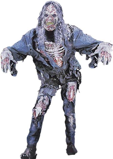 Star Eleven Disfraz de Halloween para Hombre, Zombie sanguíneo ...
