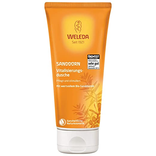 Weleda Body Wash, Sea Buckthorn, 6.8-Ounce