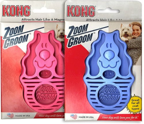 Dog Zoom Groom, Choose a color: BLUE (Soft), My Pet Supplies