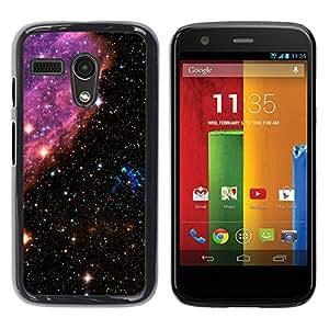 Stuss Case / Funda Carcasa protectora - Sparkling Stars - Motorola Moto G 1 1ST Gen
