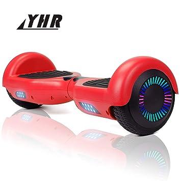 YHR Hoverboard 6,5 Pulgadas para niños y Adultos, Scooter ...