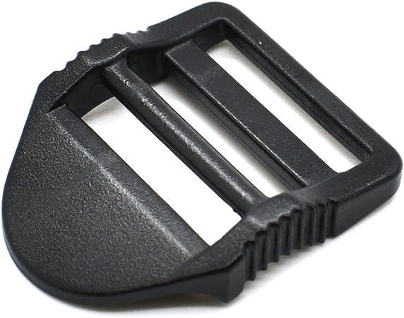 5x Adjustable Ladder Lock Slider Backpack Straps Fastener Webbing Buckles