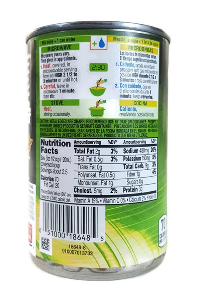 Campbells Star Wars Yoda Label Fun Shapes Chicken & Pasta Soup, 10.5 Ounce Can