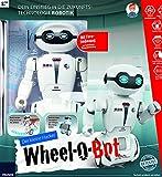 Der kleine Hacker: Wheel-O-Bot: Dein Einstieg in die Zukunftstechnologie Robotik | Mit Fernbedienung zur kabellosen Programmierung | Geschenkidee