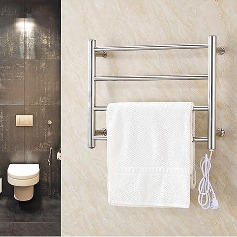 NINI Toallero eléctrico Cuarto de baño tendedero Estante de ...