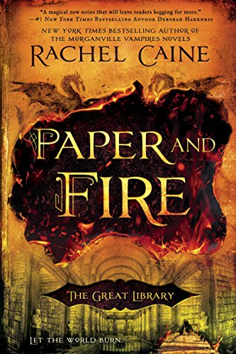 Paper and Fire (The Great Library) cover
