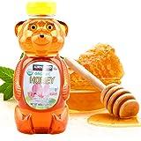 美国进口柯可蓝Kirkland三叶草小蜜蜂蜂蜜680g Clover Honey 小熊蜂蜜