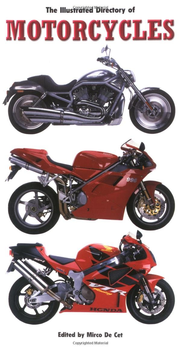 The Illustrated Directory of Motorcycles PDF