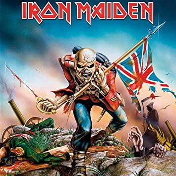Iron Maiden Greeting Birthday Any Occasion Card The Trooper 100