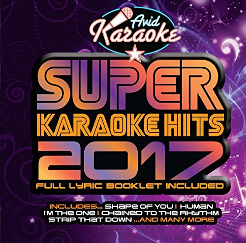 Price comparison product image Super Karaoke Hits 2017 (Audio CD only - NOT CD+G)