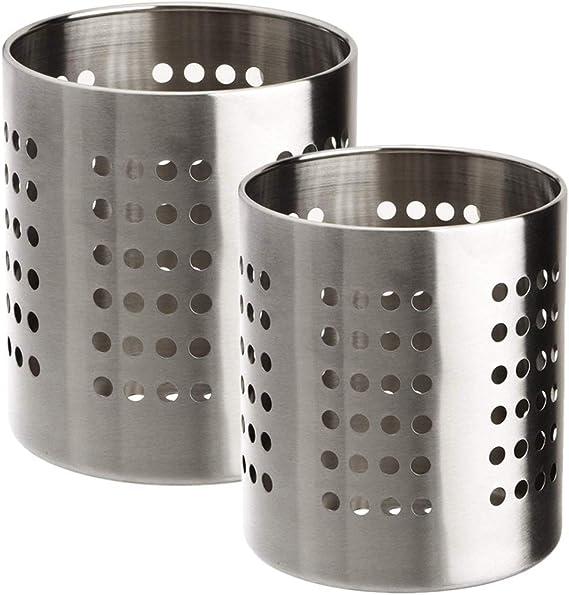 Acciaio INOX Scolaposate in acciaio INOX Life Style colore: Argento argento 10 x 11 cm