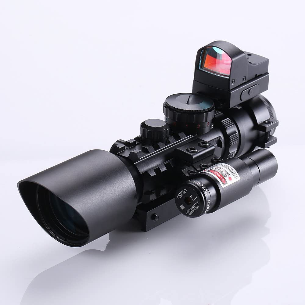 IRON JIA'S Tactical Rifle Scope Red Laser