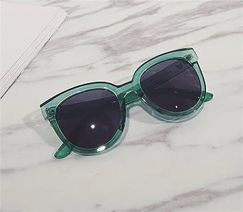 TYJshop Gafas De Sol Hombre Mujeres Gafas Polarizadas Ojo De Gato,Verde