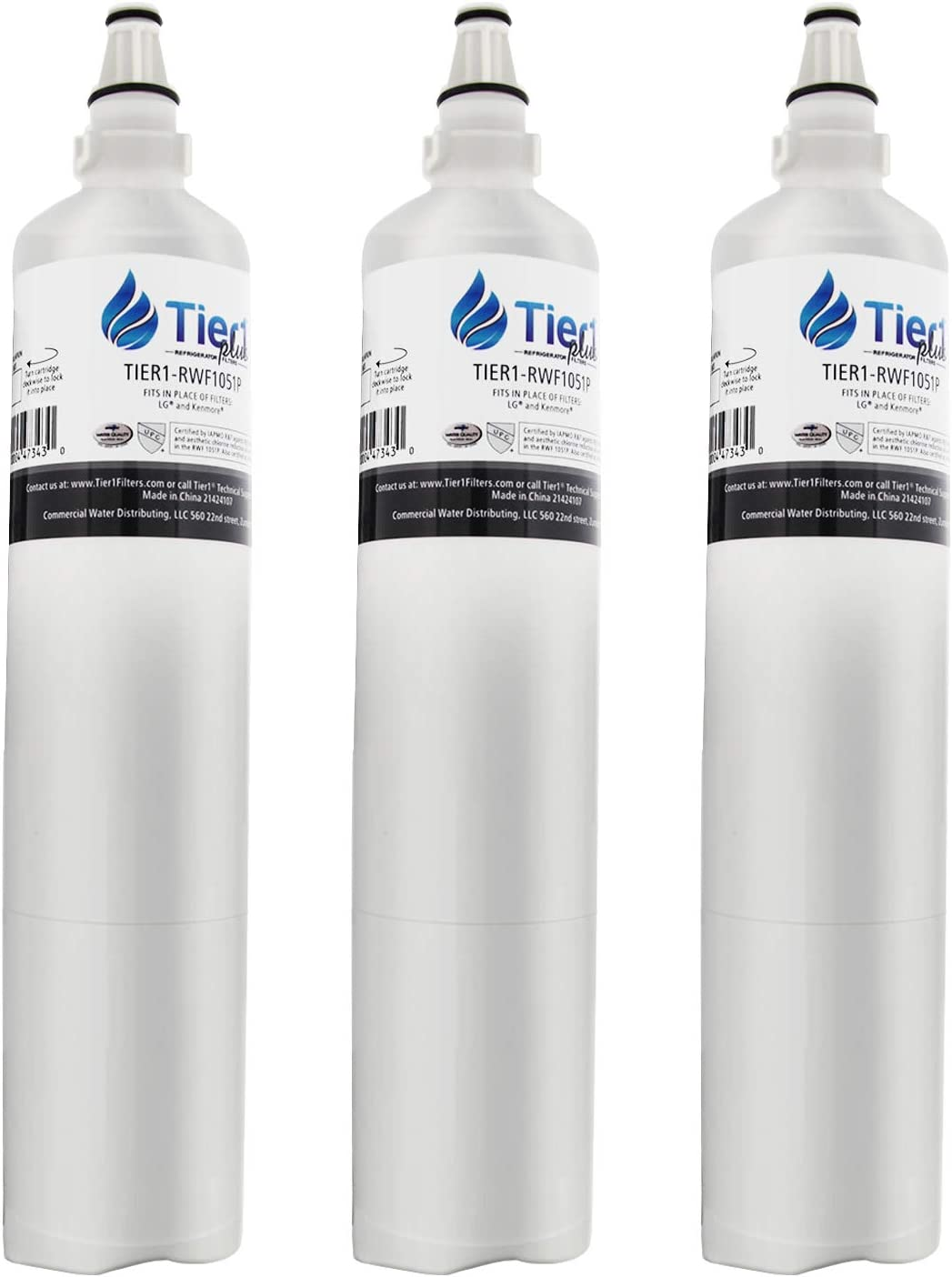 Tier1 Plus LT600P LG Comparable Refrigerator Water Filter