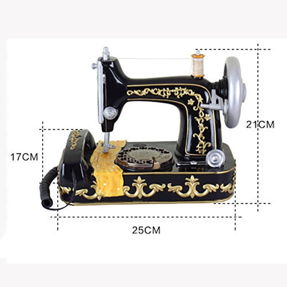 BBIAY Retro Craft Teléfono Home Desk Personalidad Estilo de máquina de coser antiguo con pulsadores: Amazon.es: Deportes y aire libre