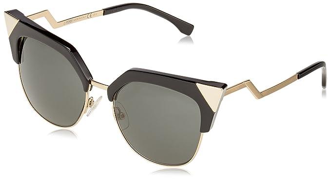 558fb884ad01 Amazon.com  Fendi Women s Iridia Crystal Corner Sunglasses