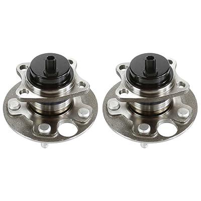 Auto Shack HB612420PR Rear Pair 2 Wheel Hub Bearing Assemblies 5 Stud: Automotive