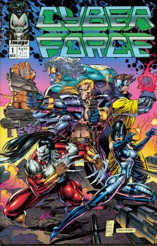 Cyber Force #1 The Tin Man of War