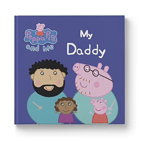 Amazon Com Peppa Pig My Daddy Personalized Book For Girl Toys