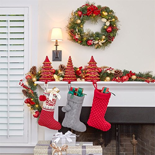 69 off brylanehome cordless led christmas garland green 0 for Brylane home christmas decorations