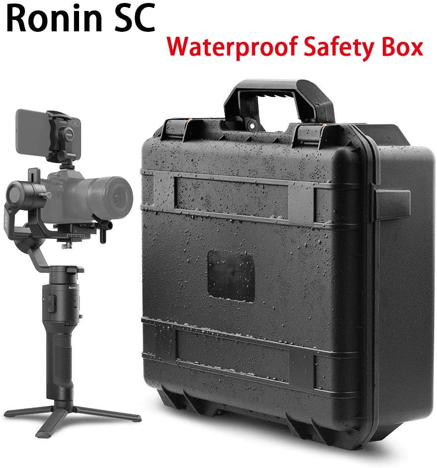 DishyKooker Water//Proof Safety Box Explosion-Proof Case Storage Box for Ronin SC Handheld Stabilizer Professional Kit Christmas