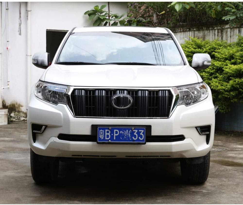 TOYOTA LANDCRUISER LC150 2018 ONWARDS CHROME FRONT GRILL WITH CAMERA