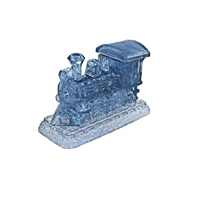 Original 3D Crystal Puzzle - Locomotive: Toys & Games