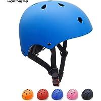 KORIMEFA Casco Bicicleta para Niños Casco Infantil Ajustable