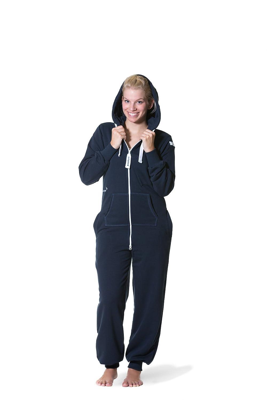 Jumpster Damen Jumpsuit Slim Fit Overall Deepest Blue jmp-0009-S