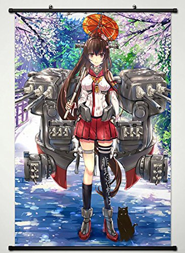 Wall Scroll Poster Fabric Painting For Anime Kantai Collecti