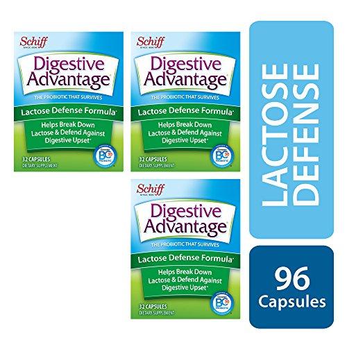 Digestive Advantage Lactose Defense Formula, 96 Capsules (3 packs of 32ct) by Digestive Advantage (Image #1)