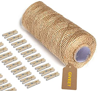 Premium Very Strong Paper Twine Crafting String Brown Copper 200 Metres