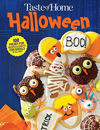 Dead Cookie Monster - Taste of Home Halloween Mini Binder: